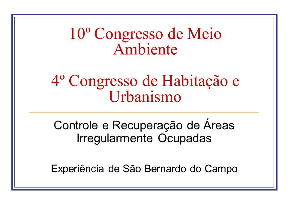 10º Congresso de Meio Ambiente 4º Congresso de Habitação e Urbanismo