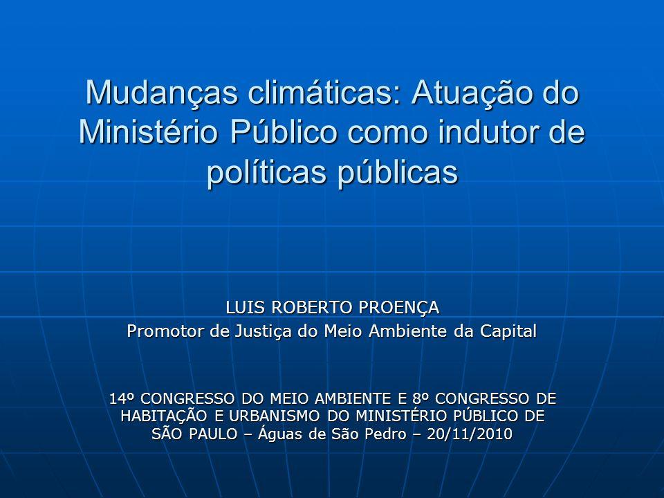 Promotor de Justiça do Meio Ambiente da Capital