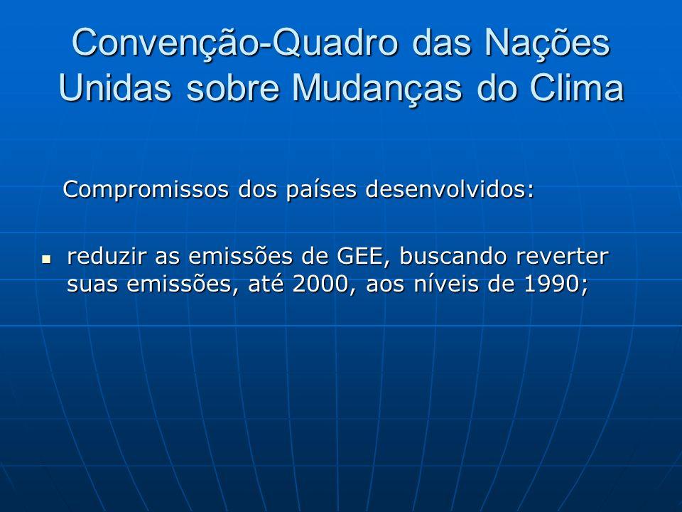 Convenção-Quadro das Nações Unidas sobre Mudanças do Clima