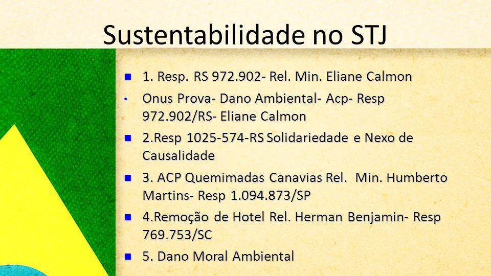 Sustentabilidade no STJ