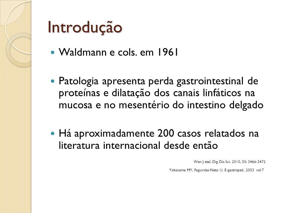 Introdução Waldmann e cols. em 1961