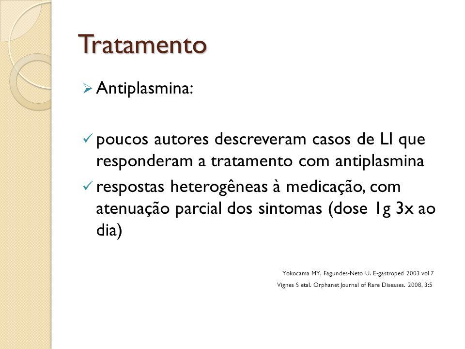 Tratamento Antiplasmina: