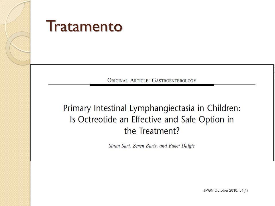 Tratamento JPGN.October 2010, 51(4)
