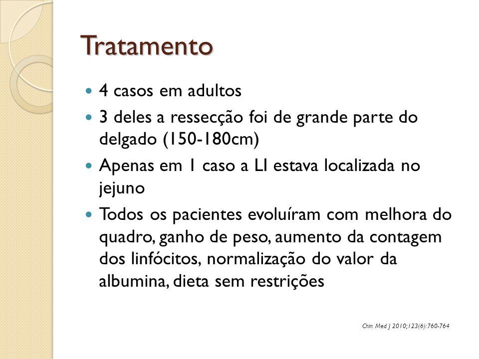 Tratamento 4 casos em adultos
