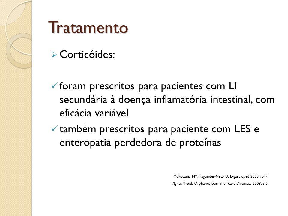 Tratamento Corticóides: