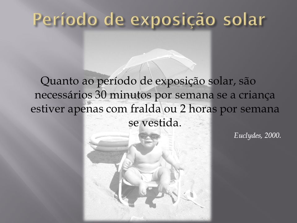 Período de exposição solar