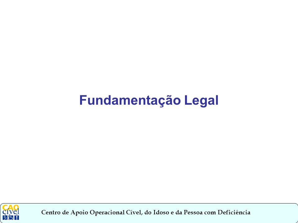 Fundamentação Legal.
