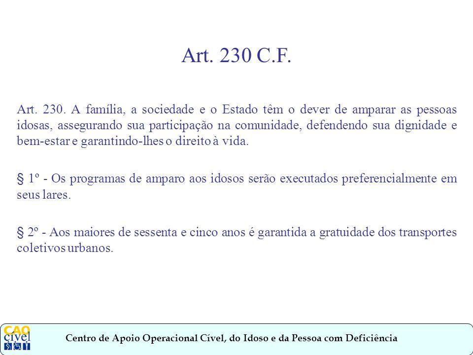 Art. 230 C.F.