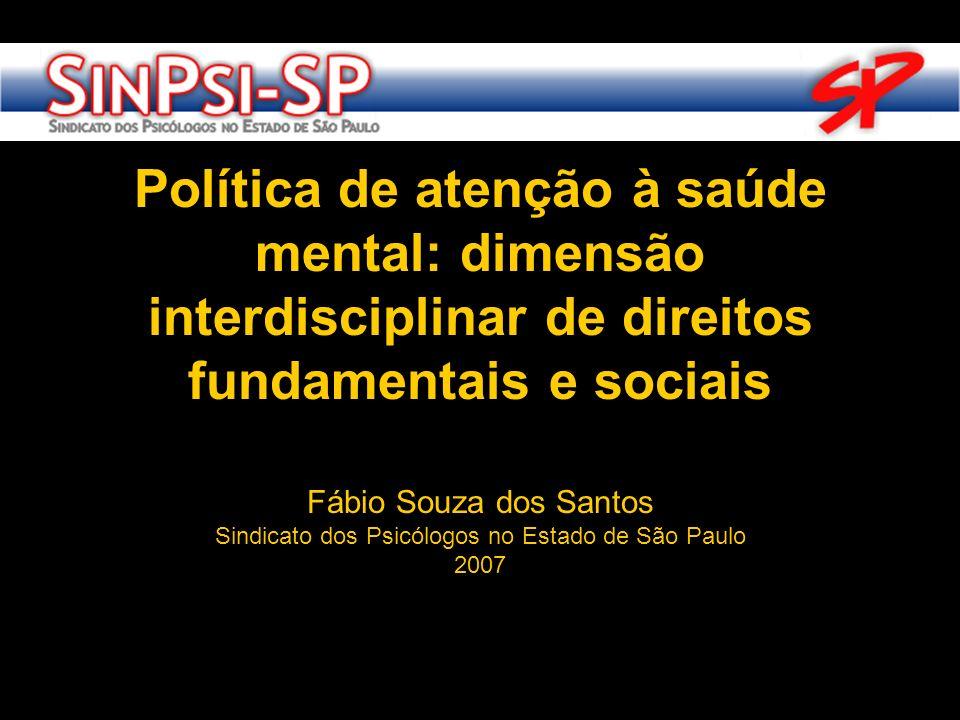 Sindicato dos Psicólogos no Estado de São Paulo