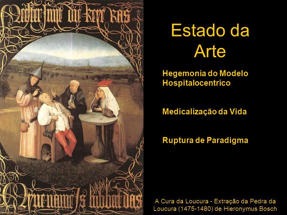 Estado da Arte Hegemonia do Modelo Hospitalocentrico