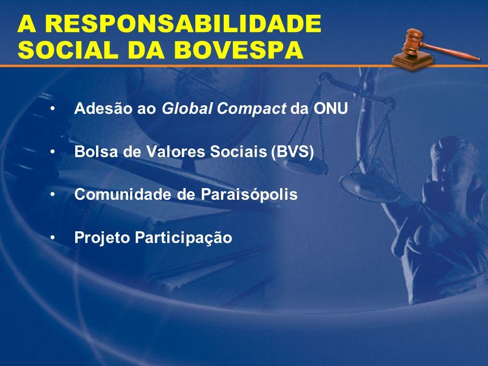 A RESPONSABILIDADE SOCIAL DA BOVESPA