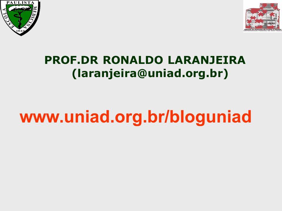 PROF.DR RONALDO LARANJEIRA (laranjeira@uniad.org.br)