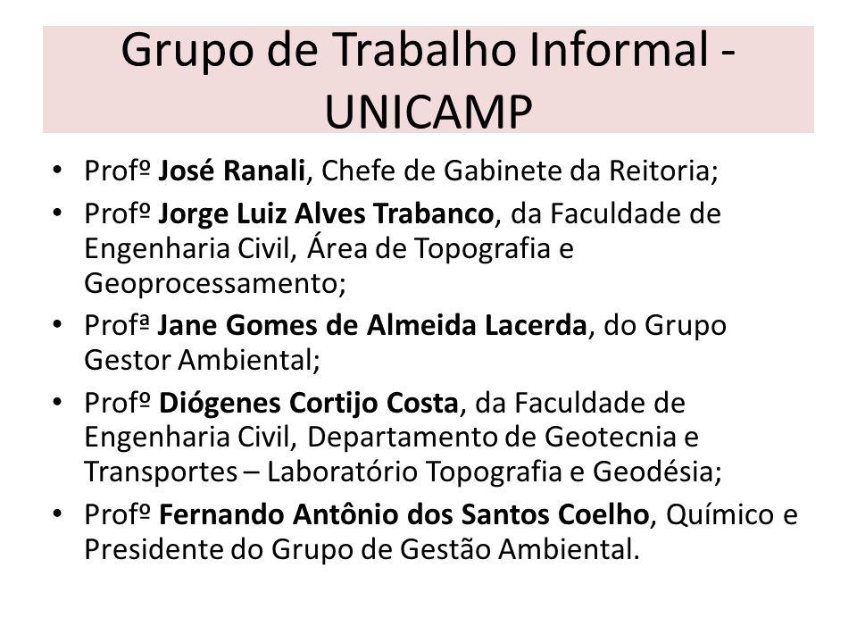 Grupo de Trabalho Informal - UNICAMP