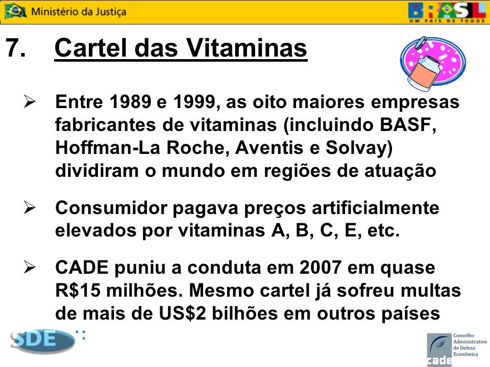 7. Cartel das Vitaminas