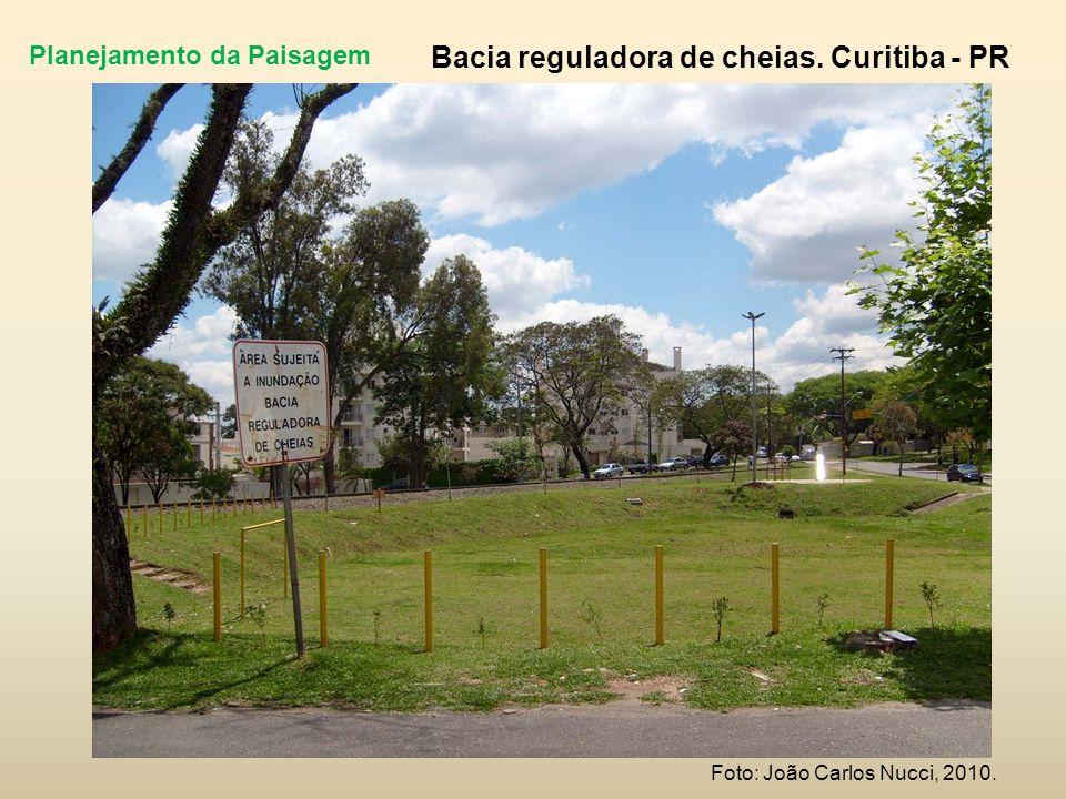 Planejamento da Paisagem Bacia reguladora de cheias. Curitiba - PR