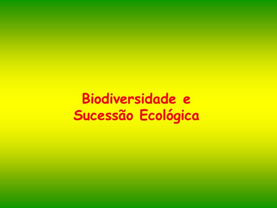 Biodiversidade e Sucessão Ecológica