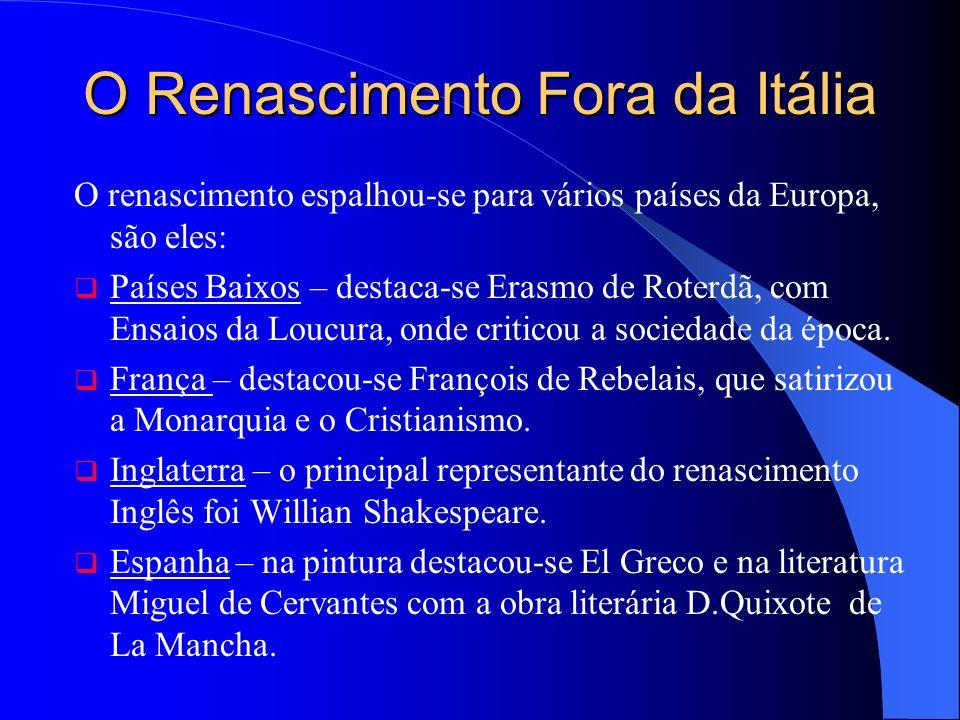 O Renascimento Fora da Itália