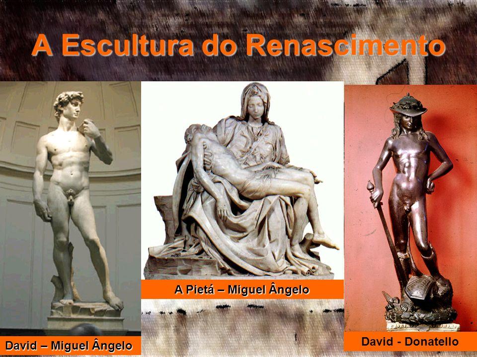 A Escultura do Renascimento
