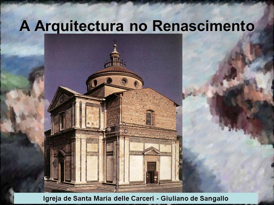 A Arquitectura no Renascimento