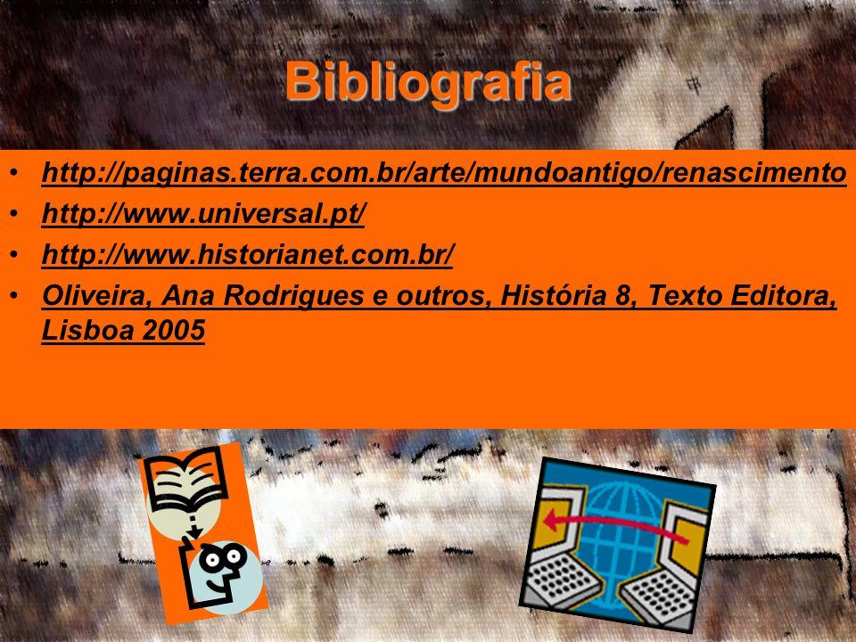 Bibliografia http://paginas.terra.com.br/arte/mundoantigo/renascimento