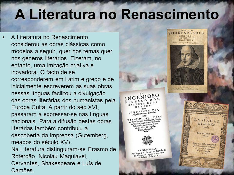 A Literatura no Renascimento