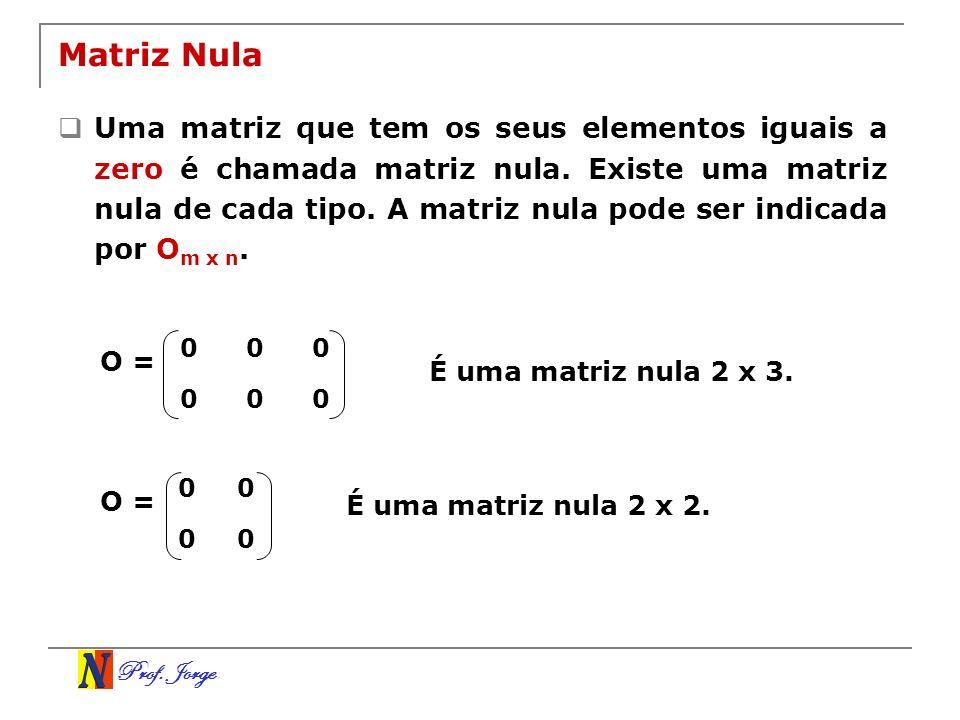 Matriz Nula