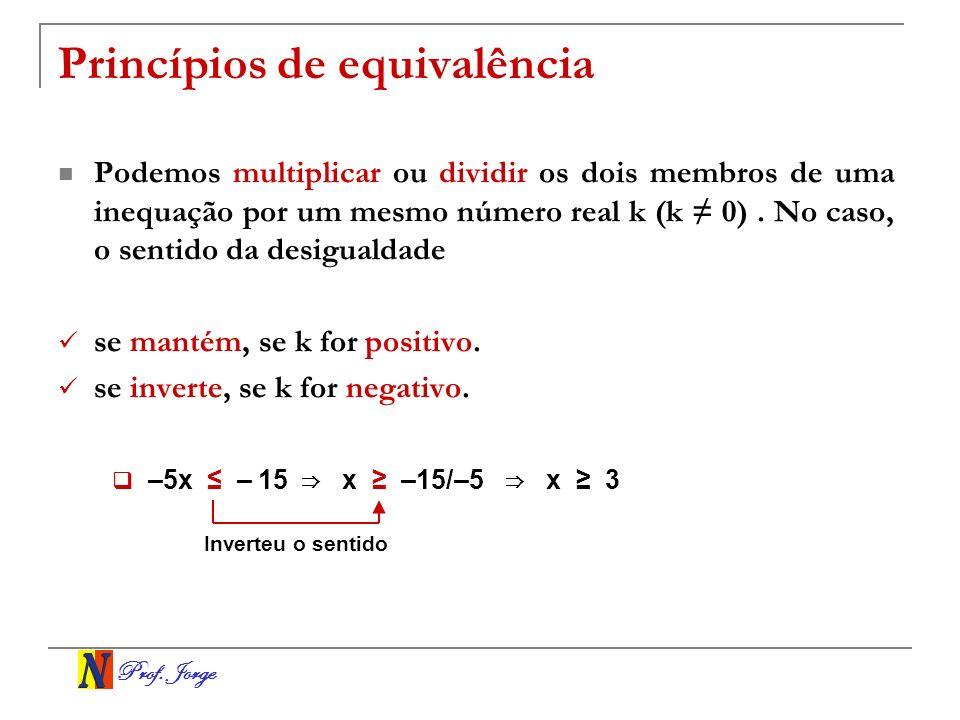 Princípios de equivalência