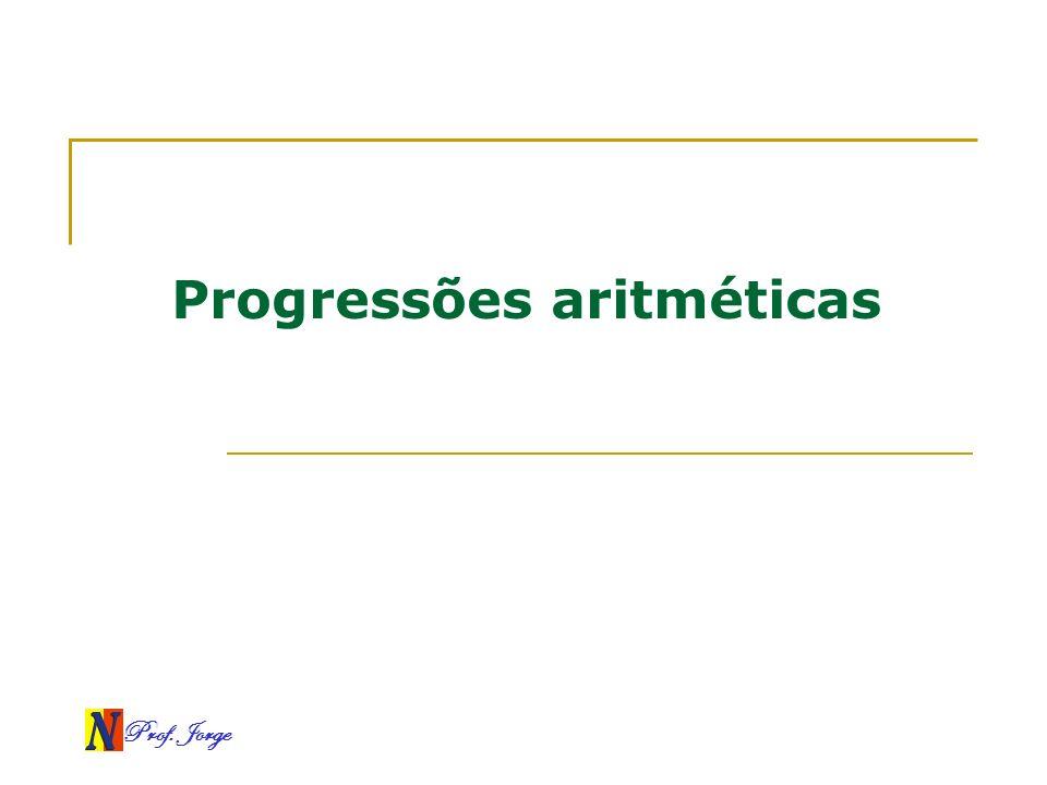 Progressões aritméticas