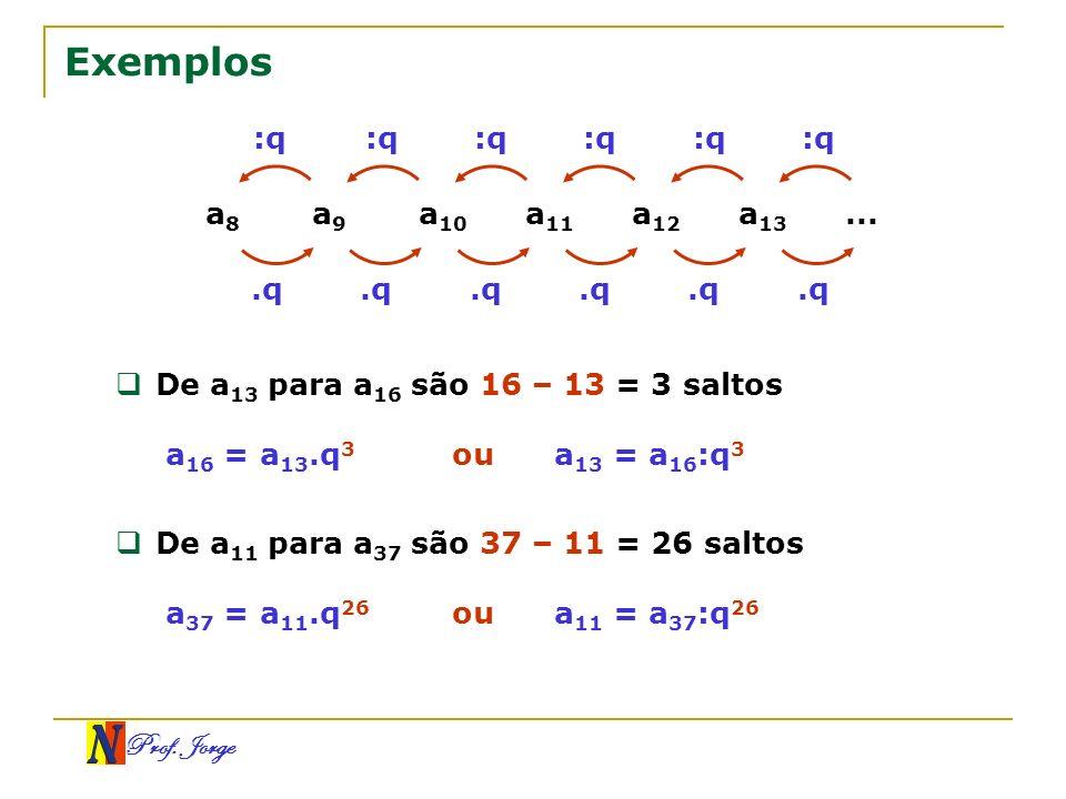 Exemplos :q :q :q :q :q :q a8 a9 a10 a11 a12 a13 ... .q .q .q .q .q .q