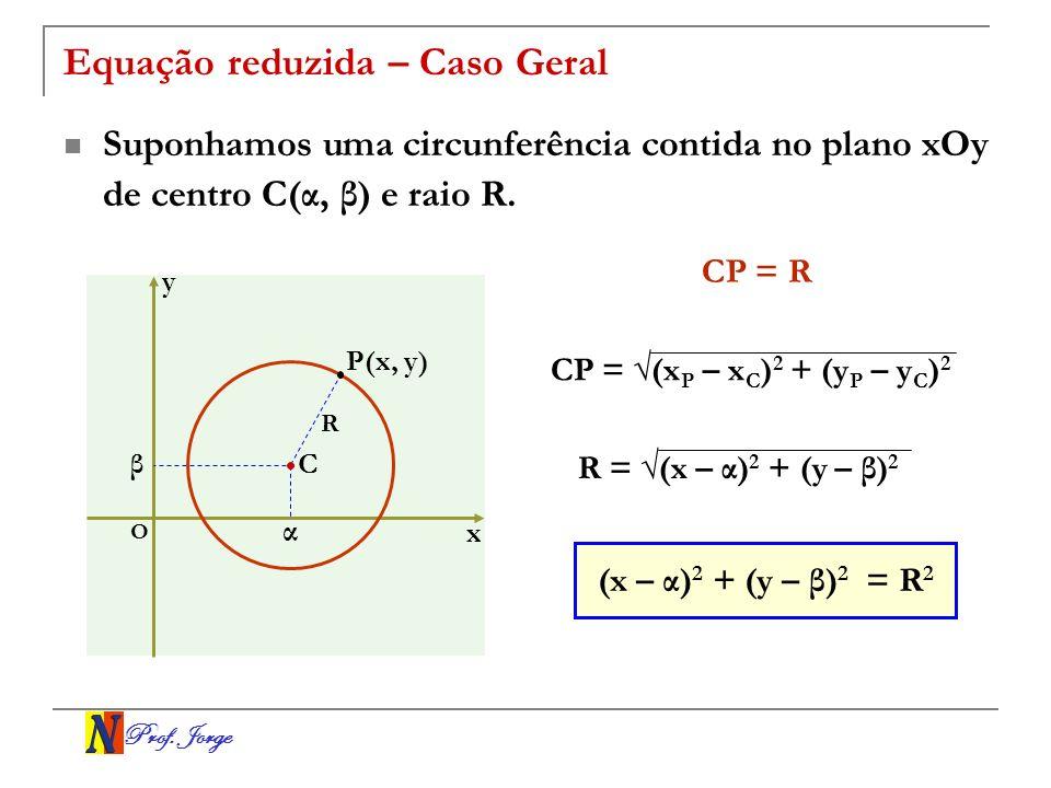 Equação reduzida – Caso Geral