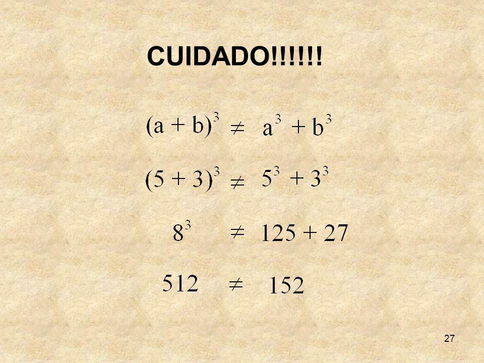 CUIDADO!!!!!!