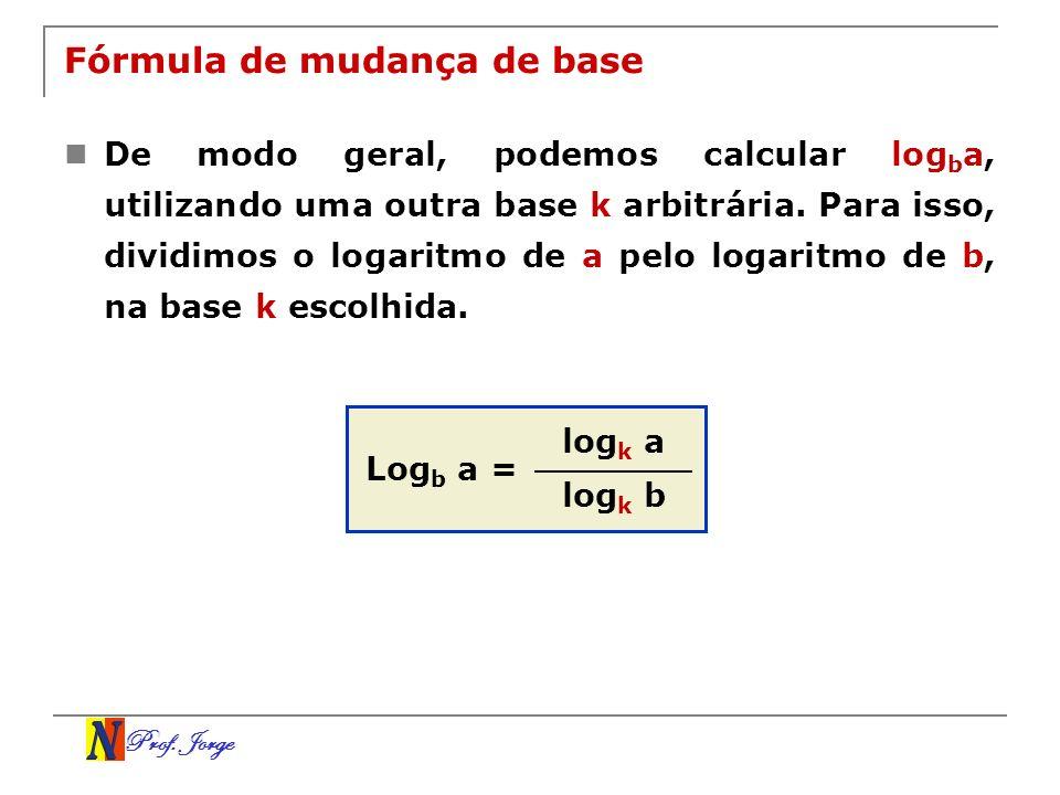 Fórmula de mudança de base