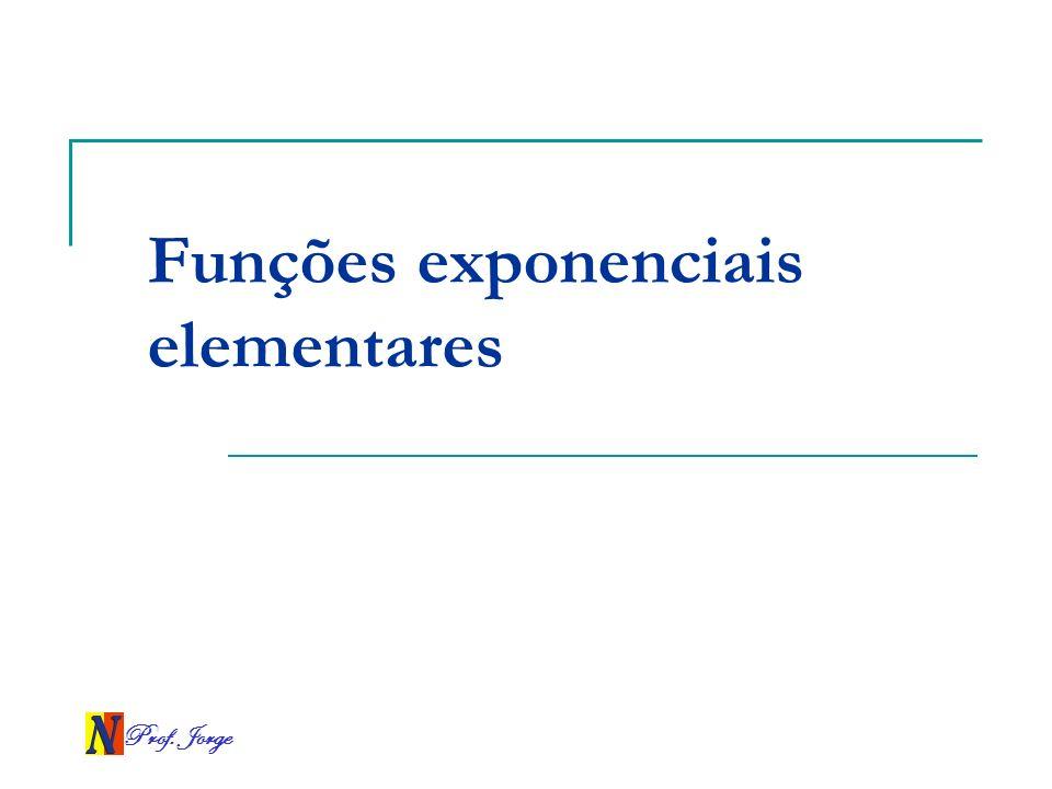 Funções exponenciais elementares
