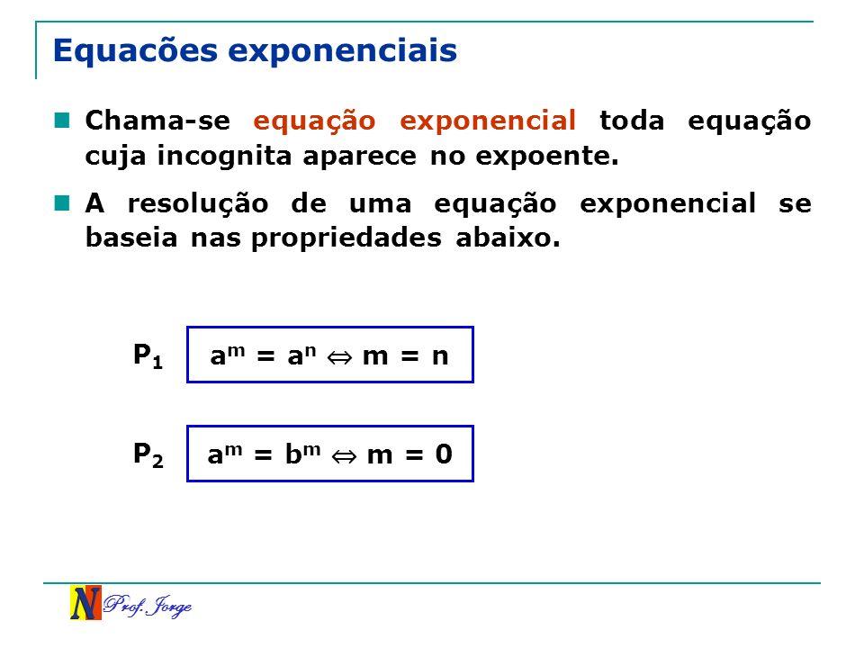 Equacões exponenciais
