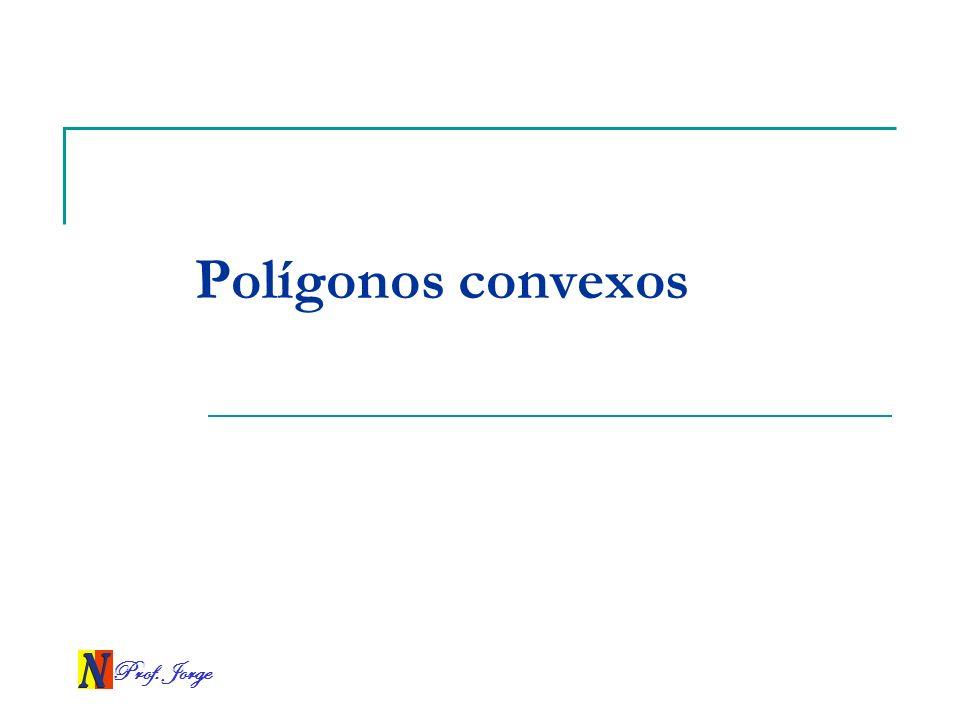 Polígonos convexos Prof. Jorge