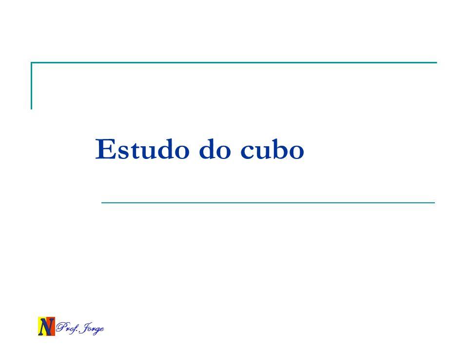 Estudo do cubo Prof. Jorge