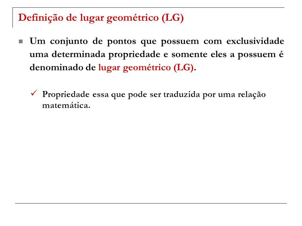 Definição de lugar geométrico (LG)