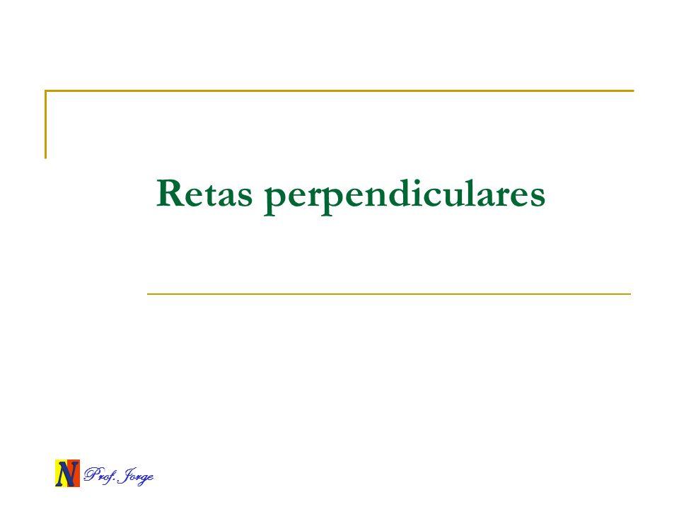 Retas perpendiculares
