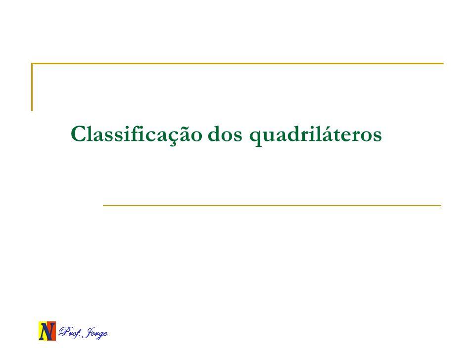 Classificação dos quadriláteros