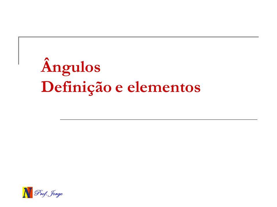 Ângulos Definição e elementos