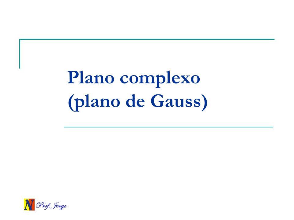Plano complexo (plano de Gauss)