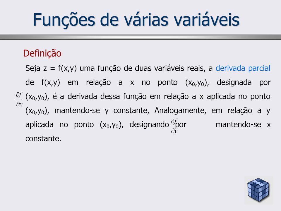 Funções de várias variáveis