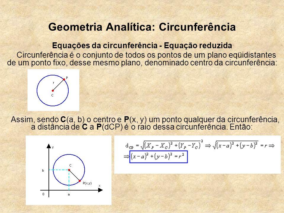 Geometria Analítica: Circunferência