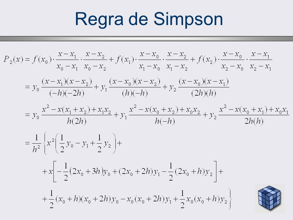 Regra de Simpson