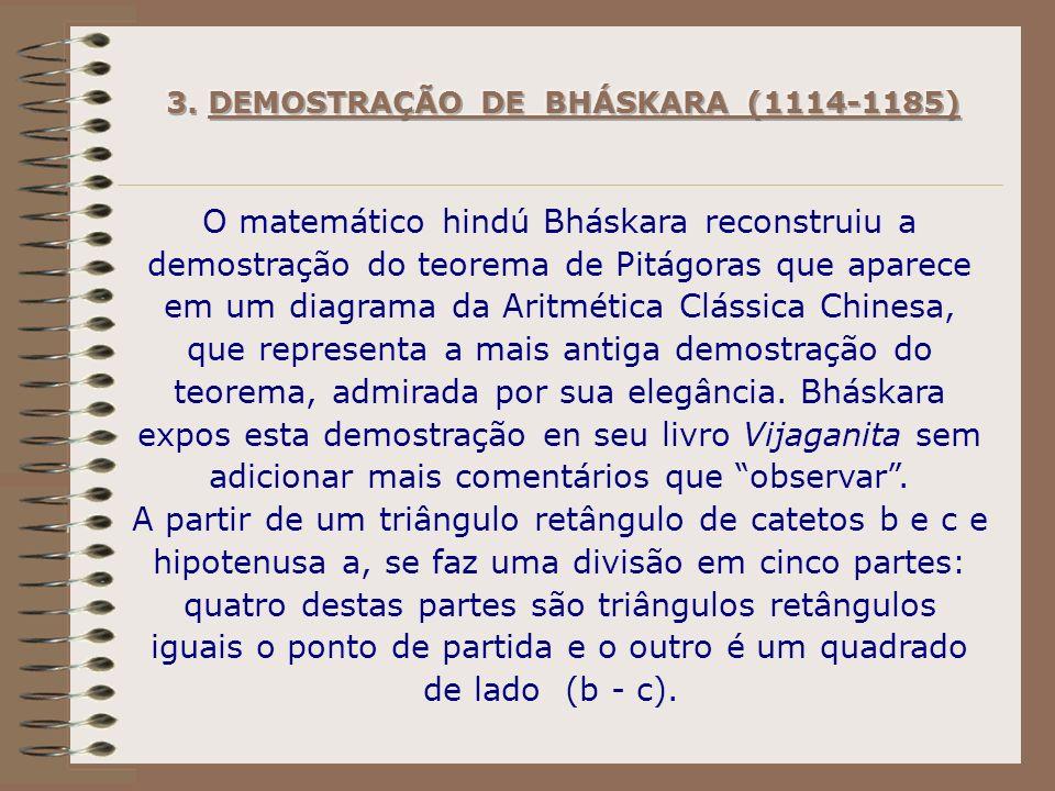 3. DEMOSTRAÇÃO DE BHÁSKARA (1114-1185)