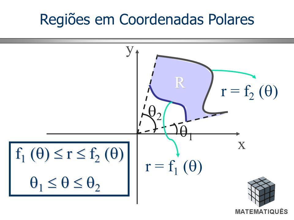 Regiões em Coordenadas Polares