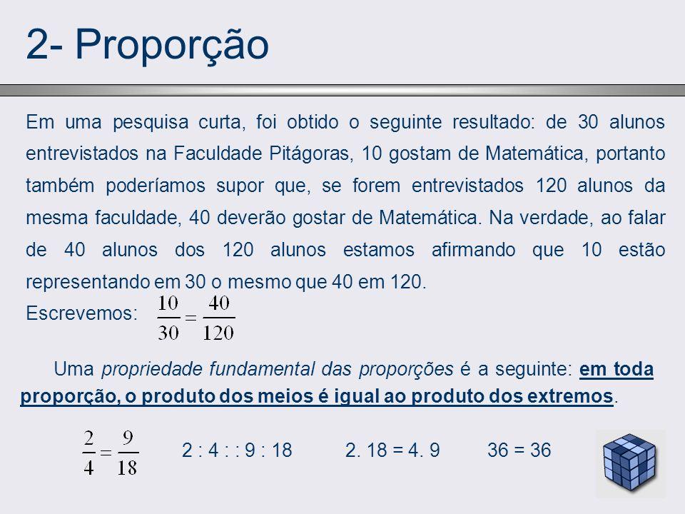 2- Proporção