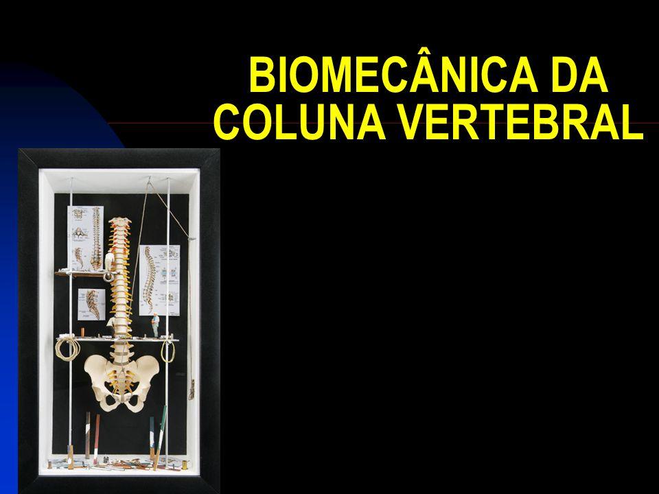 BIOMECÂNICA DA COLUNA VERTEBRAL
