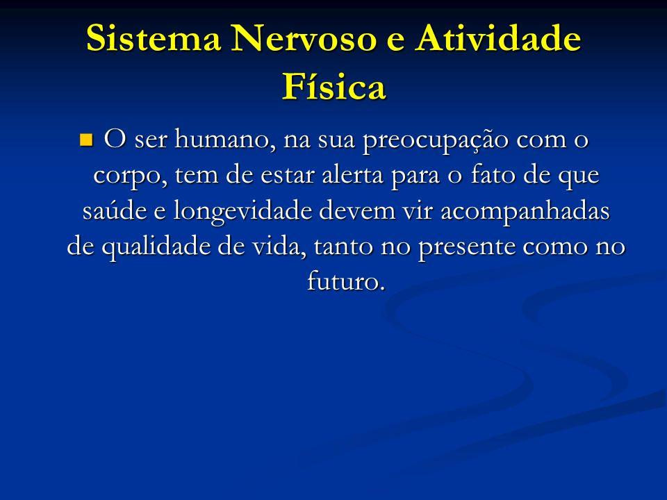 Sistema Nervoso e Atividade Física