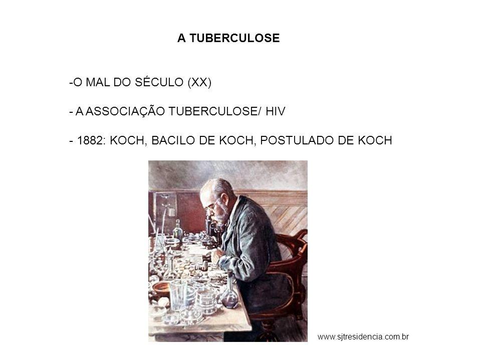 A ASSOCIAÇÃO TUBERCULOSE/ HIV